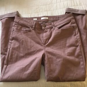 LC Lauren Conrad Cuffed Skinny Ankle Jeans NWOT